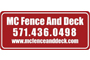 MC Fence Logo